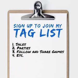 Other - Like and comment to join my TAG LIST